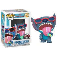 ファンコ ポップ ディズニー『リロ&スティッチ』サマー・スティッチ(香付き)  FUNKO POP! DISNEY  Lilo & Stitch   Summer Stitch