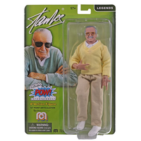 スタン・リー メゴ 8インチ アクションフィギュア(ウェブ・ハンド) Stan Lee Mego 8-Inch Action Figure(Web Hands)