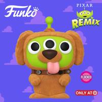 ファンコ ポップ トイストーリー エイリアン リミックス ダグ【フロックド版】 FUNKO POP! TOY STORY ALIEN REMIX - Dug  (Flocked)