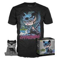 ファンコ  ポップ  DCコミックス ジム・リー『キャットウーマン』Tシャツセット POP! and Tee: Catwoman  by Jim Lee T-Shirt