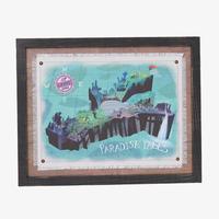 『カールじいさんの空飛ぶ家』 パラダイスフォールの地図   Disney Pixar Up Paradise Falls Map