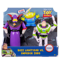 トイストーリー バズ・ライトイヤーvs.エンペラー・ザーグ Toy Story Buzz Lightyear Vs. Emperor Zurg
