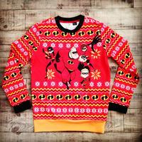 『インクレディブルファミリー』クリスマス アグリー セーター