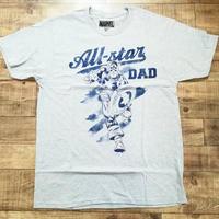 マーベル キャプテン・アメリカ All-Star DAD  Tシャツ