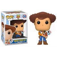 ファンコ ポップ 『トイストーリー4』限定 ウッディ with フォーキー  FUNKO POP!  TOY STORY4  Woody with Forky