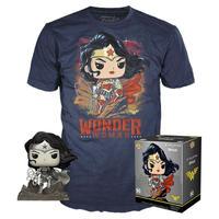 ファンコ  ポップ  DCコミックス ジム・リー『ワンダーウーマン』Tシャツセット POP! and Tee: Wonder Woman  by Jim Lee T-Shirt