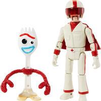 トイストーリー4  アクションフィギュア フォーキー&デューク・カブーン Toy Story4 Forky & Duke Caboom
