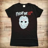 『13日の金曜日』  レディース Tシャツ