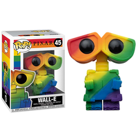 ファンコ ポップ ピクサー『ウォーリー』【レインボー】  FUNKO POP!Disney: Pride 2021 - WALL-E (Rainbow)