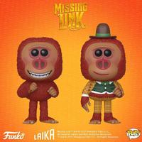ファンコ ポップ   映画『ミッシング・リンク 英国紳士と秘密の相棒』 FUNKO  POP!  Missing Link   set of 2