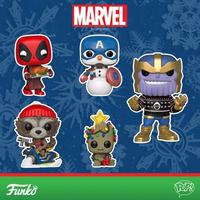 ファンコ ポップ  マーベル クリスマス 5体セット FUNKO  POP! Marvel Holiday  set of 5