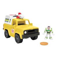 トイストーリー  Fisher-Price Imaginext バズ・ライトイヤー&ピザプラネット・トラック  Buzz Lightyear & Pizza Planet Truck