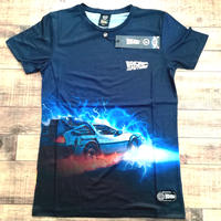 Hype「バック・トゥ・ザ・フューチャー」Tシャツ HYPE X BACK TO THE FUTURE BLACK CAR GRAPHIC T-SHIRT