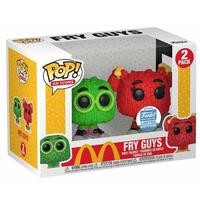 ファンコ ポップ 『マクドナルド』フライキッズ グリーン/レッド  FUNKO POP!McDomald's FRY KIDS Green/Red