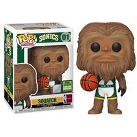 2021 春のコンベンション限定 ファンコ ポップ NBAシアトル・スーパーソニックス  スクアッチ Funko Pop! NBA Mascots Sonics Squatch