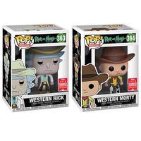 ファンコ ポップ 『リック&モーティ』ウエスタン リック&モーティ  Funko Pop! Western Rick and Morty  (SDCC)