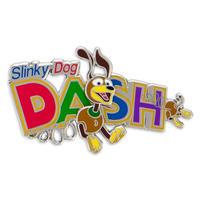 トイストーリー  『TOY STORY LAND』限定  ''Slinky Dog Dash''  ピンバッジ
