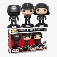 ファンコ ポップ  「スターウォーズ」帝国軍3体セット FUNKO  POP! Star Wars  Death Star Gunner, Officer & Trooper (3-Pack)