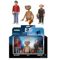 2017年 ファンコ Funko リ・アクション Re-Action 『E.T.』E.T.&エリオット&ガーティ 3パック