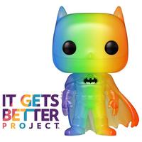 ファンコ  ポップ バットマン【レインボー】  FUNKO POP! BATMAN Pride 2020 Rainbow Pop!