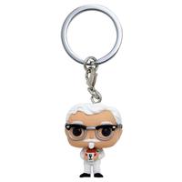 ファンコ ポップ ポケット キーチェーン KFC カーネルサンダース FUNKO POP!POCKET  KFC Colonel Sanders