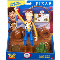 トイストーリー 「投げ縄」ウッディ アクションフィギュア  TOY STORY  Launching Lasso Woody