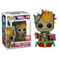ファンコ ポップ マーベル  グルート(ホリデー)  FUNKO POP! Marvel  Groot(HOLIDAY)