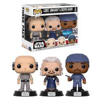 ファンコ ポップ  「スターウォーズ」クラウドシティ 3体セット FUNKO  POP! Star Wars   Lobot, Ugnaught, Bespin Guard  (3-Pack)