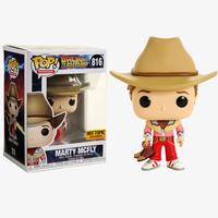 ファンコ ポップ 『バック・トゥ・ザ・フューチャー』マーティ・マクフライ (カウボーイ) FUNKO POP! Back to the Future: Marty McFly  (Cowboy)