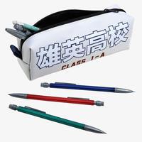 『僕のヒーローアカデミア』雄英高校 ペンケース  BIOWORLD  My Hero Academia Class 1-A Pencil Case