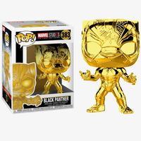 ファンコ ポップ マーベル10周年 ブラックパンサー(ゴールド)  Funko Pop! Marvel Studios The First Ten Years Black Panther(GOLD )
