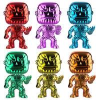 ファンコ ポップ FUNKO POP! アベンジャーズ・インフィニティウォー インフィニティストーン・サノス 6体セット Infinity Stones Thanos Chrome