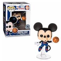 ファンコ ポップ FUNKO POP! ディズニーパークス限定 バスケットボール ミッキーマウス Basketball Mickey Mouse NBA Experience