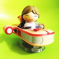 ファンコ  ドーブズ  スターウォーズ ルークスカイウォーカー with スピーダー Funko DORBZ RIDEZ STAR WARS Luke Skywalker with Speeder