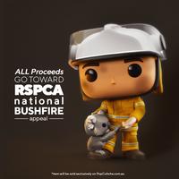 ファンコ  ポップ  ブッシュファイア・ヒーローズとコアラ(オーストラリア限定) Funko POP! Bushfire Heroes Firefighter with Koala