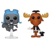 ファンコ ポップ FUNKO POP!   ロッキーとブルウィンクルの大冒険 2体セット Rocky and Bullwinkle