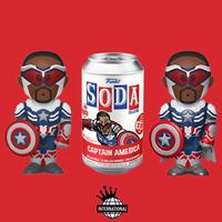 ファンコ ビニール・ソーダ キャプテンアメリカ(インターナショナル版) Funko Vinyl SODA Captain America (International)