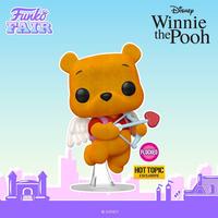 ファンコ ポップ ディズニー『くまのプーさん』バレンタイン プーさん Funko POP! Disney Valentine's Winnie the Pooh (flocked)