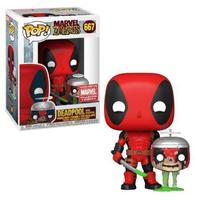 ファンコ ポップ マーベル・ゾンビーズ デッドプール w/ヘッドプール Funko POP! Marvel Deadpool with Headpool