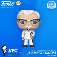 ファンコ ポップ  KFC カーネル・サンダース with ケーン Funko Pop!  KFC - Colonel Sanders  with Cane