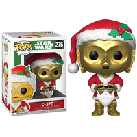 ファンコ ポップ 『スター・ウォーズ』C-3PO(サンタ)  FUNKO POP! STARWARS  C-3PO (Santa)