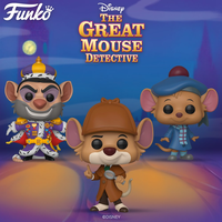 """ファンコ ポップ  ディズニー『オリビアちゃんの大冒険』3体セット   Funko Pop! Disney""""The Great Mouse Detective"""" set of 3"""