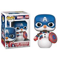 ファンコ ポップ マーベル  キャプテンアメリカ(スノーマン) FUNKO POP!Marvel  Cap Snowman