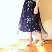 チュール星座スカート