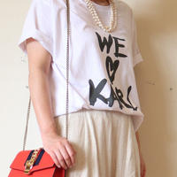 WE♡KARL Tシャツ