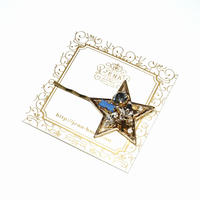 ☆Brilliant Stars☆ ヘアピン 【ブルー】