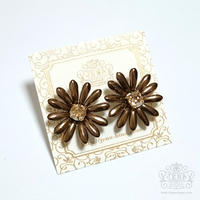 Marguerite Flower Bronze