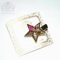 ☆Brilliant Stars☆ クリップ 【ピンク】