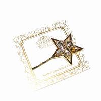 ☆Brilliant Stars☆ ヘアピン 【クリスタル】