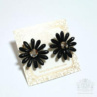 Marguerite Flower BLACK